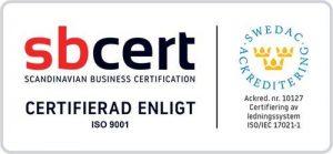 ISO certifiering